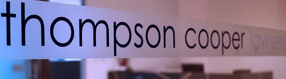 Thompson Cooper Lawyers provides big firm experience and expertise with small firm flexibility.